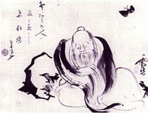 Zhuangzi (Tchouang Tseu) d'Ike no Taiga