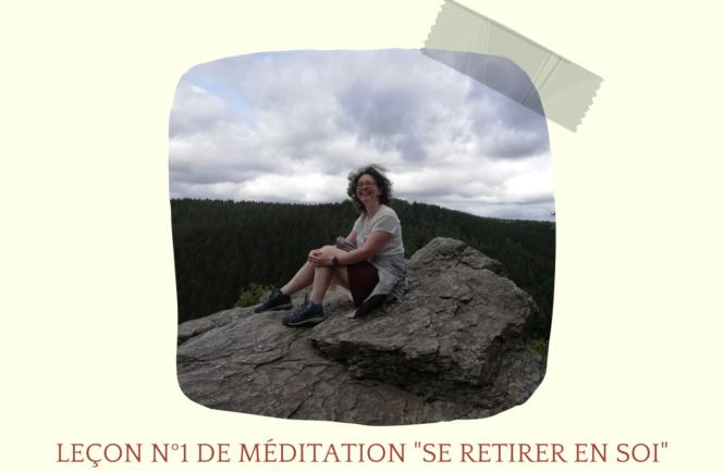 se retirer dans la méditation